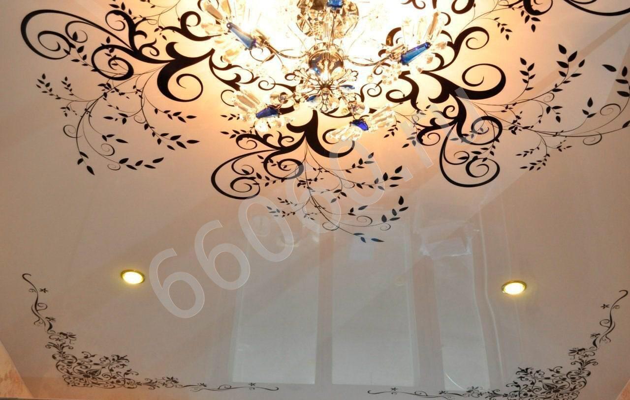 Натяжные потолки для зала 50 шикарных вариантов и рекомендаций